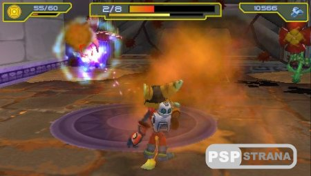 Ratchet and Clank Size Matters (PSP/RUS)