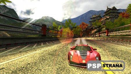 Burnout Collection (PSP/RUS) Игры на PSP