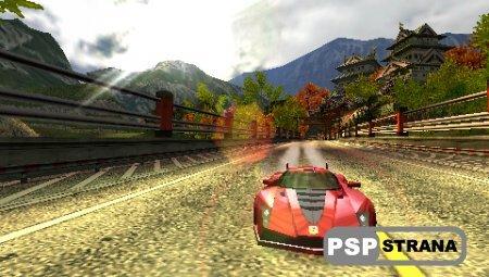 Burnout Collection (PSP/RUS) Игры на PSP
