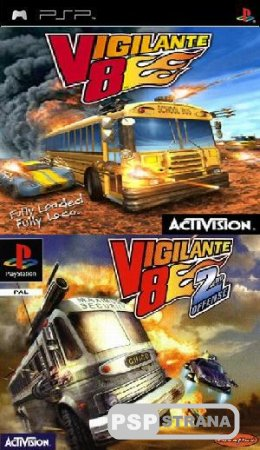 Vigilante 8 Full Collection [psp-psx]