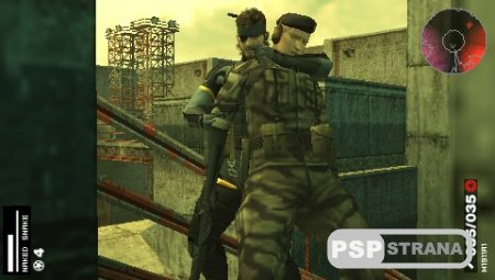 Metal Gear Solid Portable Ops Plus (PSP/ENG)