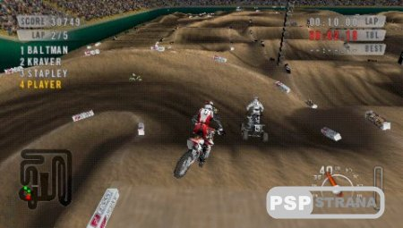 MX vs. ATV On the Edge [PSP/ENG] Игры на PSP