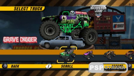 Monster Jam Urban Assault [PSP/en/RUS] Игры на PSP
