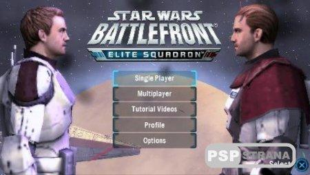 Star Wars Battlefront Elite Squadron (PSP/ENG) Игры на PSP