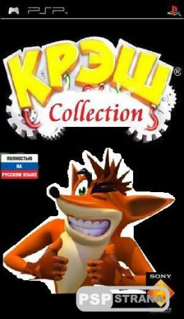 Crash Bandicoot Collection [PSP/RUS] Игры на PSP