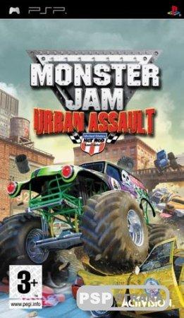 Monster Jam Urban Assault [PSP/en/RUS] Игры на PSP