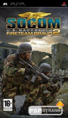 SOCOM U.S. Navy SEALs Fireteam Bravo 2 [PSP/ENG] Игры на PSP