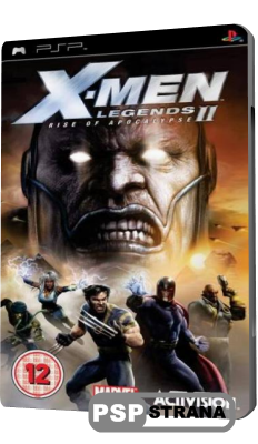 X-Men Legends II: Rise of Apocalypse (PSP/RUS)