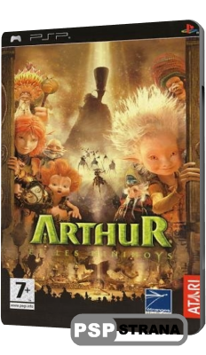 Arthur and the Invisibles [RUSSOUND] (PSP/RUS)