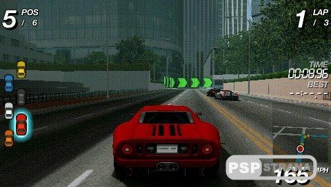 Racing Lagoon Iso Psp