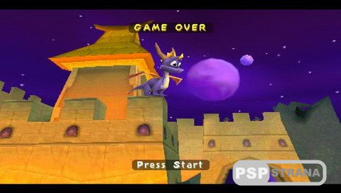 Spyro 3 Year of the Dragon (PSP-PSX/RUS) » Игры для PSP