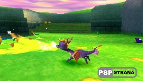 Spyro 3 Year of the Dragon (PSP-PSX/RUS) » Игры для PSP