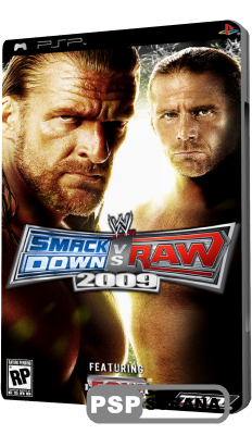 WWE SmackDown! vs. RAW 2009 (PSP/ENG)