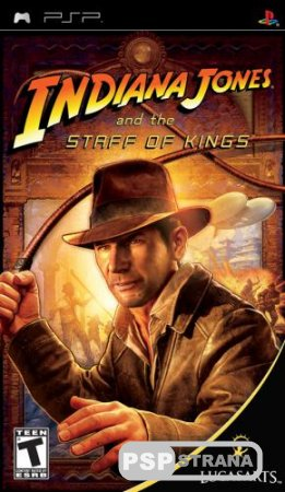Indiana Jones and the Staff of Kings (PSP/ENG) Игры на PSP