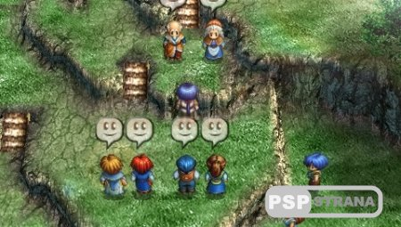 Legend of Heroes II: Prophecy of the Moonlight Witch (PSP/ENG) Игры на PSP