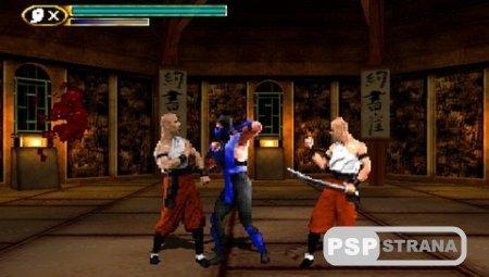 Mortal Kombat Mythologies Sub-Zero (PSX-PSP/Eng/RUS)