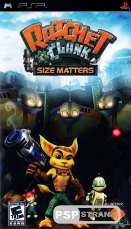 Ratchet & Clank Size Matters (PSP/RUS)