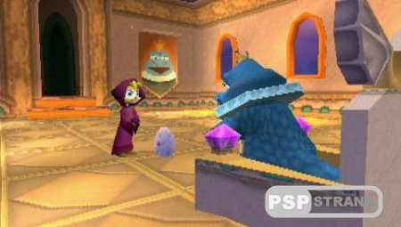 Spyro 3 Year of the Dragon (PSP-PSX/RUS)