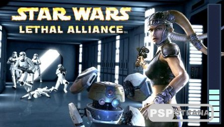 Star Wars Lethal Alliance (PSP/Eng/RUS) Игры на PSP