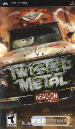 Twisted Metal: Head-On [PSP/RUS] Игры на PSP