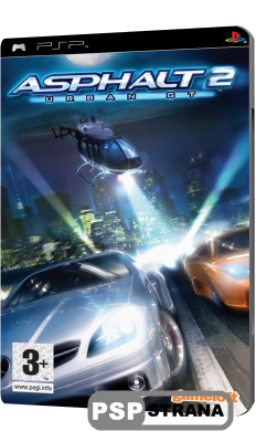 Asphalt: Urban GT 2 (PSP/ENG)
