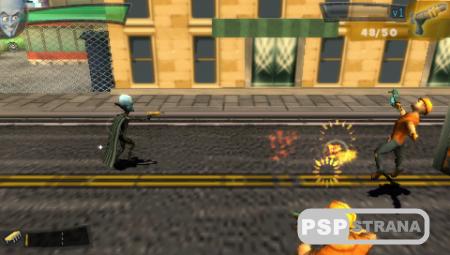 Megamind The Blue Defender / Мегамозг Синий защитник (PSP/RUS)
