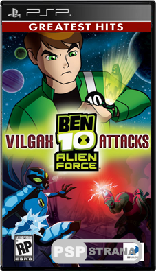 Ben 10: Alien Force - Vilgax Attacks [ENG][ISO]