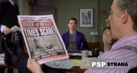 Фильм Чело-пук / Человек-паук (2002) для PSP