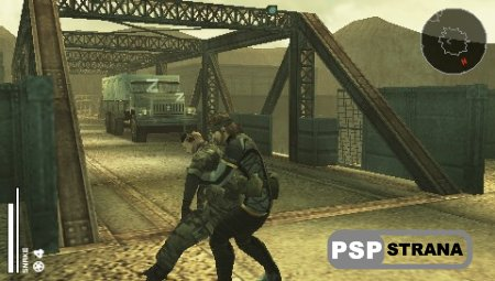 Metal Gear Solid: Portable Ops (PSP/ENG)