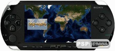 PSP программа Maps v2.2