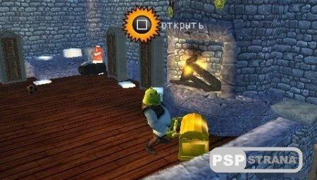 Shrek The Third [RUSSOUND] (PSP/RUS)
