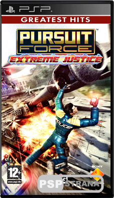 Pursuit Force: Extreme Justice [RUS][ISO][FULLRip]