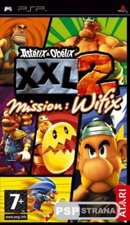 Asterix & Obelix XXL 2 Mission WiFix (PSP/RUS) RUSSOUND