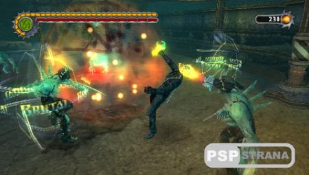 Ghost Rider / Призрачный гонщик (PSP/Rus)