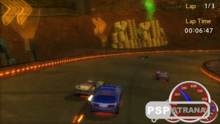Hot Wheels Ultimate Racing (PSP/ENG)