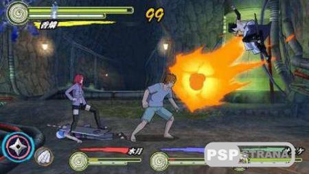Naruto Shippuden: Ultimate Ninja Heroes 3 [ENG][ISO][FULLRip]