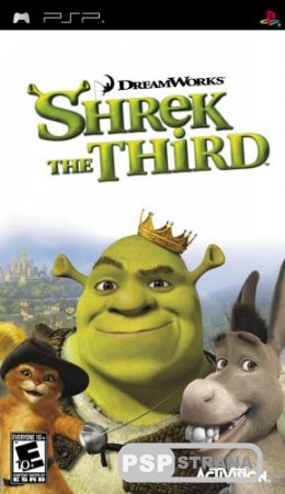 Shrek the Third / Шрек 3 (PSP/ENG/RUS)