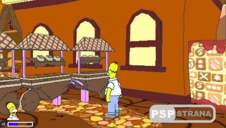 The Simpsons Game / Симпсоны (PSP/RUS) Игры на PSP