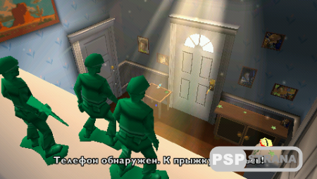 Toy Story 3 The Video Game / История игрушек большой побег (PSP/RUS)