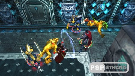 X-Men Legends II Rise of Apocalypse (PSP/Eng/RUS) [FULL][ISO]