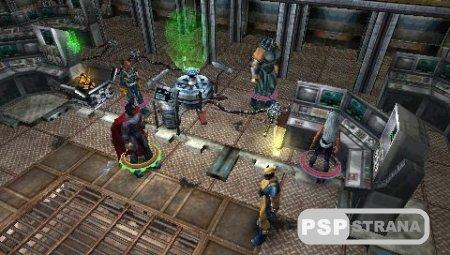 X-Men Legends II Rise of Apocalypse (PSP/Eng/RUS) [FULL][ISO]