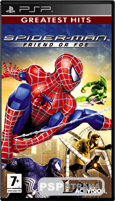 Spider-Man Friend or Foe [ENG][ISO][FULLRip]