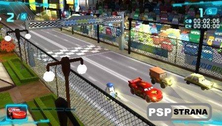 Cars 2 / Тачки 2 [PSP] [Rus] [Full]