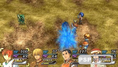The Legend of Heroes A Tear of Vermillion (PSP/RUS) [RPG]