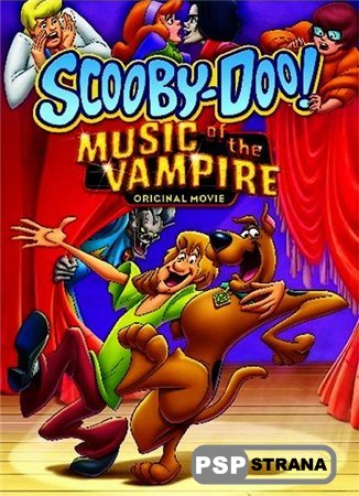 PSP фильм Скуби-Ду ! Музыка вампира / Scooby Doo! Music of the Vampire (2012) DVDRip
