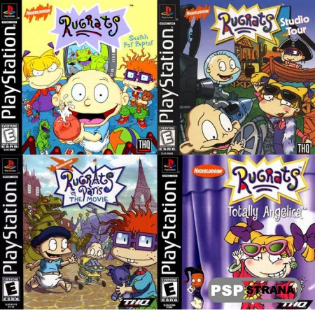 Rugrats Collection (PSP/RUS/ENG) [FULL]
