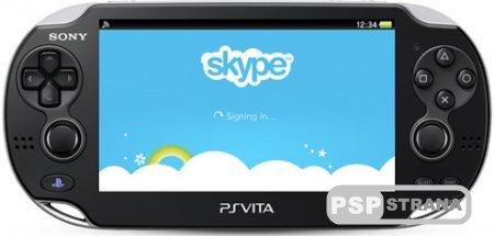 Вот и вышел Скайп для PS Vita