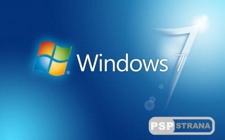 "CTF ТЕМА ""WINDOWS 7"" для PSP"