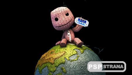 Обои из популярных игр и аниме на PS Vita приставку - частично прозрачные
