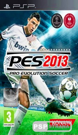 Pro Evolution Soccer 2013 (PSP/RUS/Multi5)
